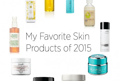 My Favorite Skin Products of 2...