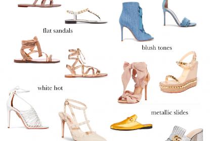 Spring Shoe Edit: My Favorites...